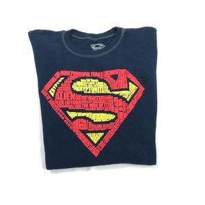 Other - Superman thermal tee